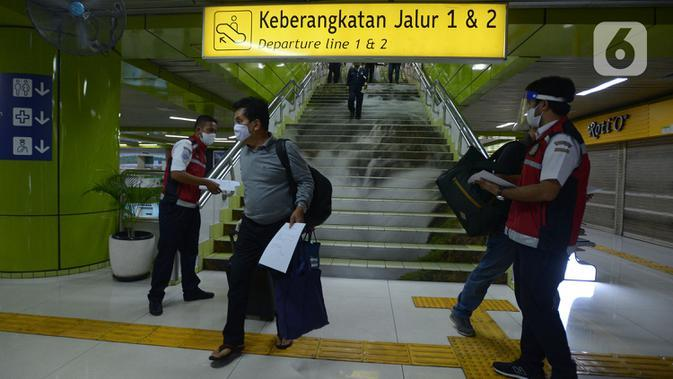 1 WNA Terjaring Operasi SIKM di Stasiun Pasar Senen