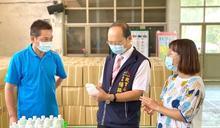 開學在即 中市教局超前部署發放校園防疫物資