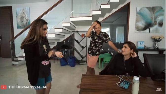Ashanty (Foto: YouTube/The Hermansyah A6)