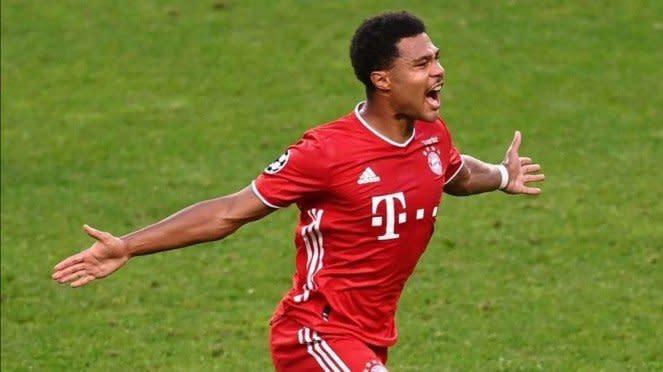 Pemain Bayern Munich, Serge Gnabry.