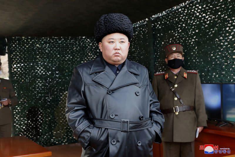 North Korea leader Kim Jong Un oversaw latest missile launch - KCNA