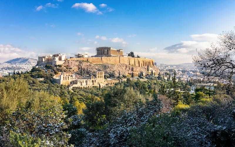 I'm obsessed with Greece – and history – but the country's ancient capital has always managed to escape my grasp - getty