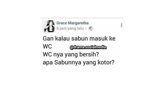 Pertanyaan Lucu di Media Sosial Ini Malah Bikin Emosi (sumber:Instagram/drama.sosialmedia)