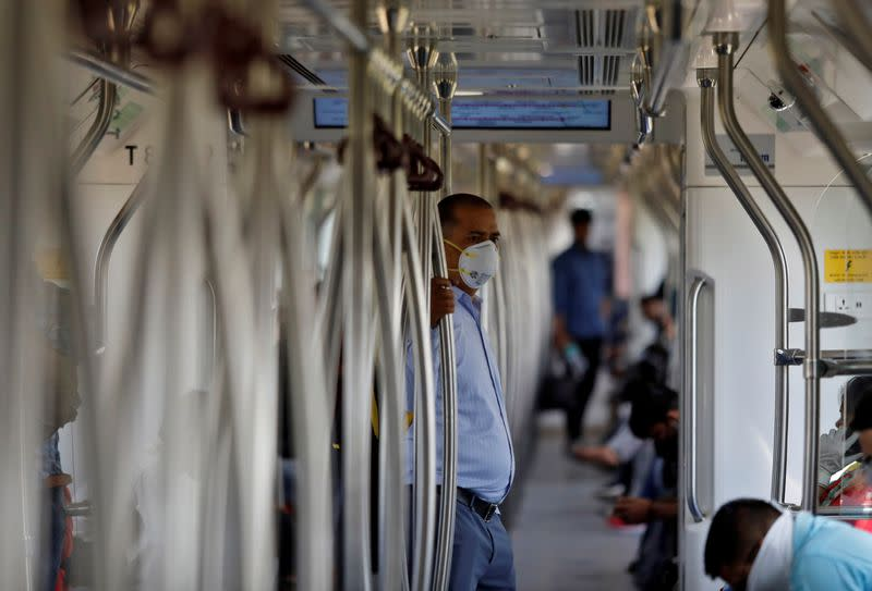 India to reopen underground train networks even as coronavirus cases jump