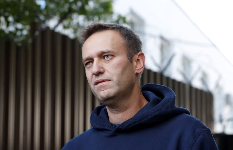 U.S. could restrict funds for 'malign activities' over Navalny poisoning
