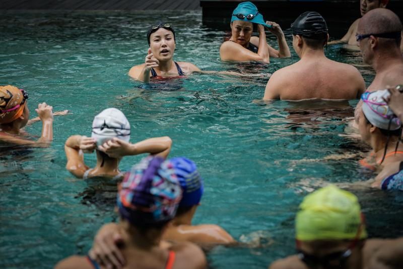 The Ipoh-born swimmer ended her 10-year hiatus two years ago with the 17th World Masters Championships in Budapest.