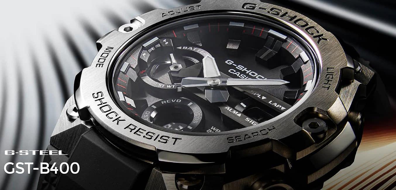 輕薄的 G-STEEL 手錶