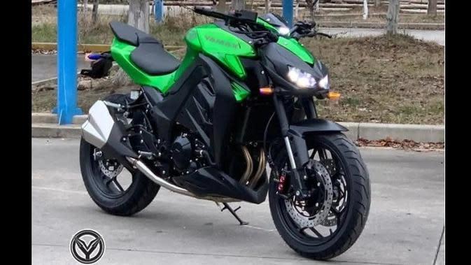 Z400, Naked Bike Kloningan Kawasaki Z1000