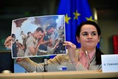 Tidak ada sanksi Uni Eropa terhadap Belarusia meski ada permintaan dari pemimpin oposisi