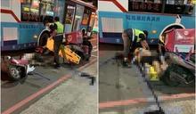 20歲熊貓外送員摔車「安全帽噴飛頭部遭重擊」 深夜家屬悲痛放棄急救亡