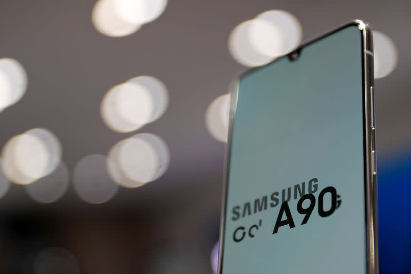 Samsung Electronics says profit fall likely milder than forecasts as chip prices bottom out