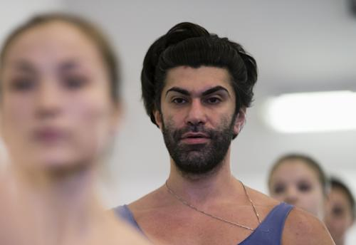 FILE - In this Thursday, Feb. 14, 2013 file photo, Bolshoi ballet dancer Nikolai Tsiskaridze stands during a rehearsal in the Bolshoi Theater in Moscow, Russia. Bolshoi principal dancer Nikolai Tsiskaridze, appealed to a court against the Bolshoi theater's general director Anatoly Iksanov as part of an effort to unseat him. Minister Vladimir Medinsky said Tuesday, July 9, 2013, that Anatoly Iksanov would be replaced by Vladimir Urin, head of another major ballet and opera theater. (AP Photo/Alexander Zemlianichenko, File)