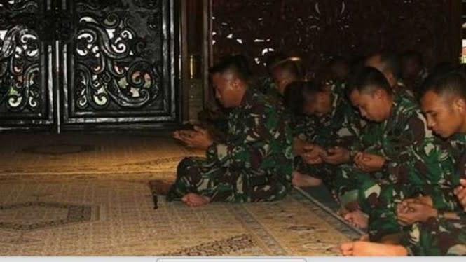 Ruh Pangeran Sambernyawa Dalam Operasi Prajurit Kostrad TNI