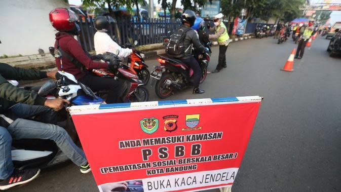 Polisi Ngamuk di Pos PSBB Kabupaten Bandung Berencana Kunjungi Orangtua