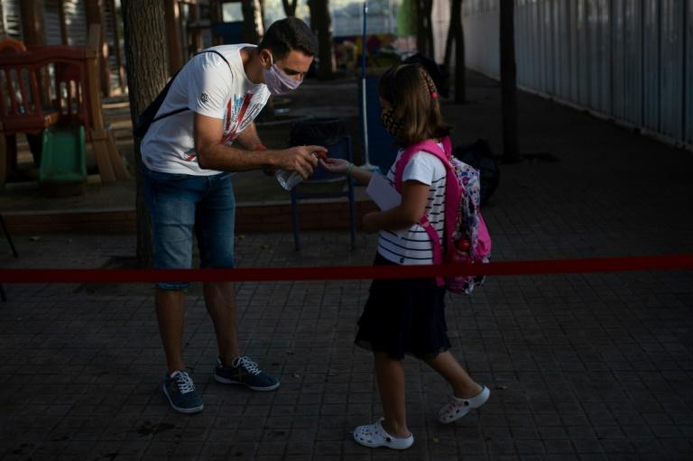 Child hand sanitiser poisoning cases spike in Spain