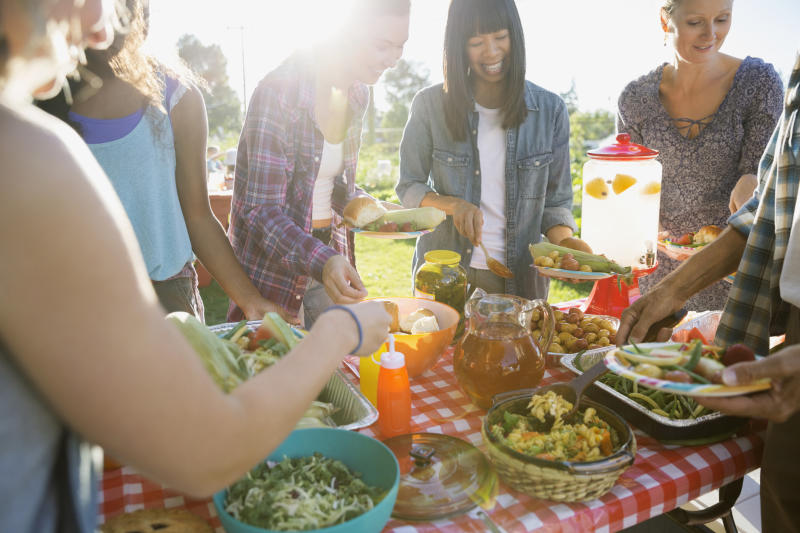 A number of picnic goers don't realise how much salt our go-to food items contain