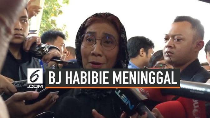 VIDEO: Pesan Terakhir BJ Habibie ke Menteri Susi Pudjiastuti