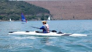 前香港殘奧代表高誌樫創「5公里單手划獨木舟」最快世界紀錄