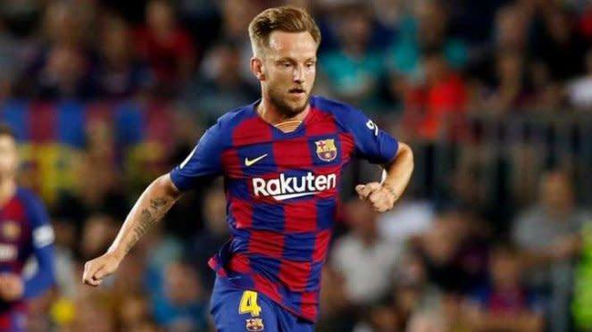 Gelandang Barcelona Ivan Rakitic