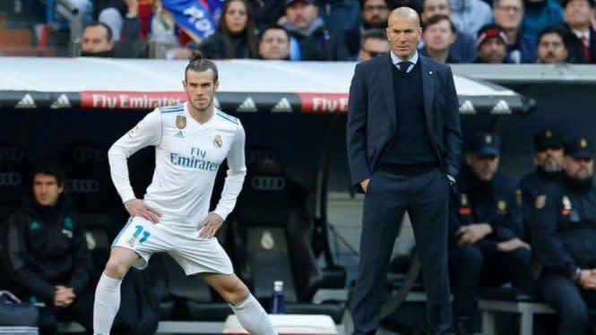 Zinedine Zidane Mengindari Polemik dengan Gareth Bale