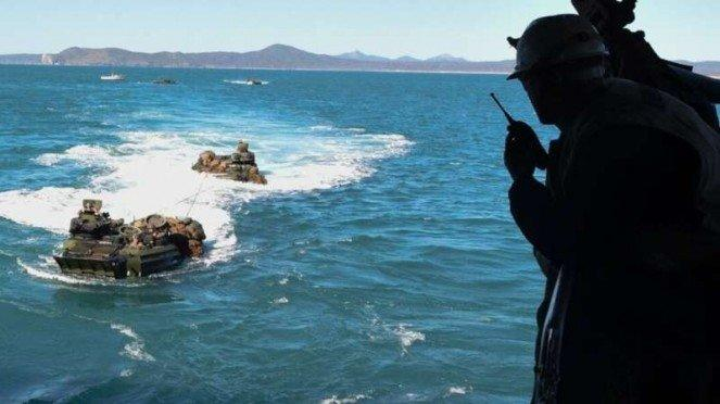 VIVA Militer: Latihan tempur Korps Marinir Republik China (Taiwan)