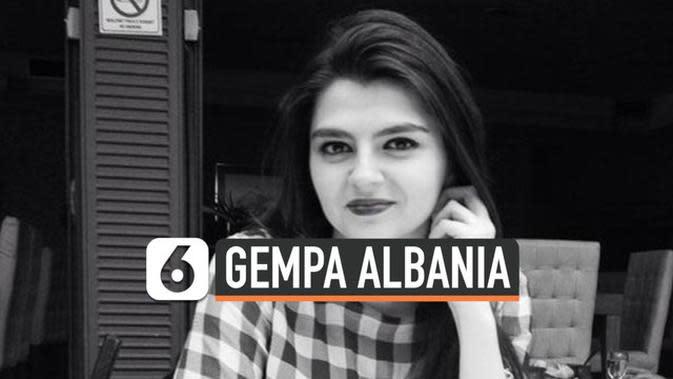 VIDEO: Calon Menantu PM Albania Tewas karena Gempa