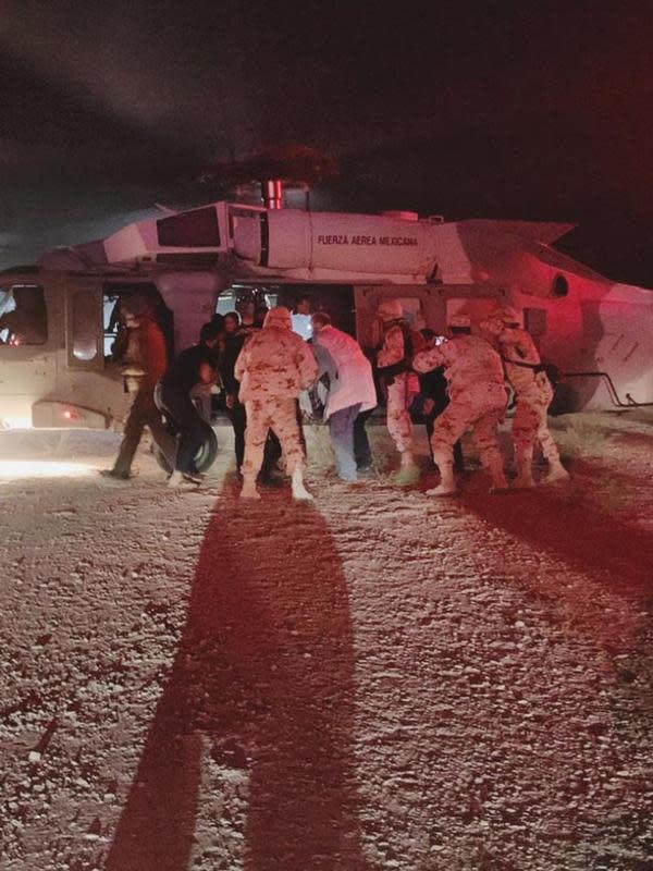 Serangan kertel narkoba Meksiko.(Sonora state Health Secretary via AP)