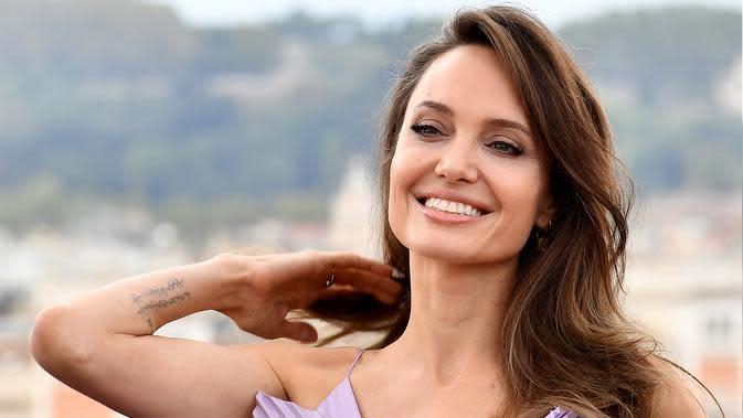 Angelina Jolie (AFP Photo/Tiziana Fabi)