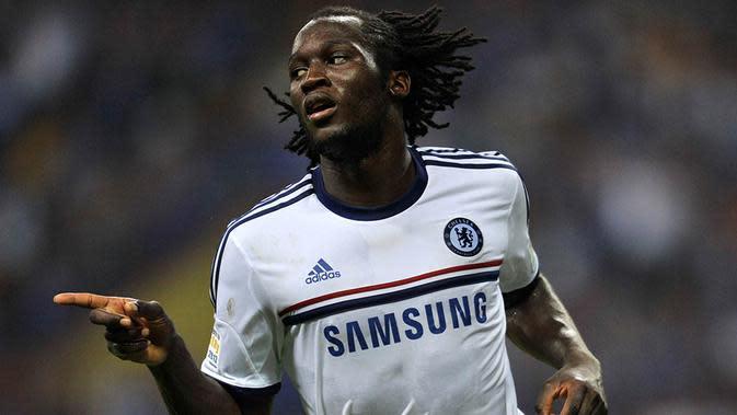 Romelu Lukaku - Dirinya sering disebut sebagai titisan Drogba. Tetapi striker muda Belgia itu kesulitan mendapatkan tempat bersama Chelsea yang membuatnya dibuang ke Everton. (AFP/Najja Zulkefli)