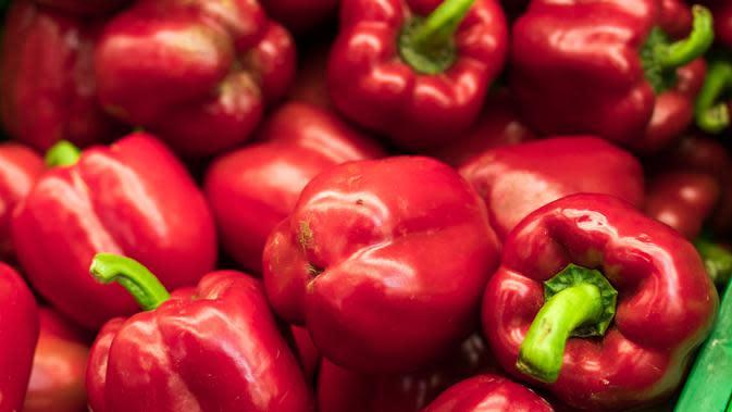 ilustrasi manfaat paprika merah untuk kesehatan/pexels