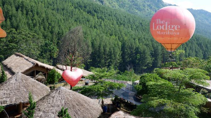 The Lodge Maribaya menjadi zalah satu rekomendasi tempat wisata di Bandung utara. (Huyogo Simbolon)