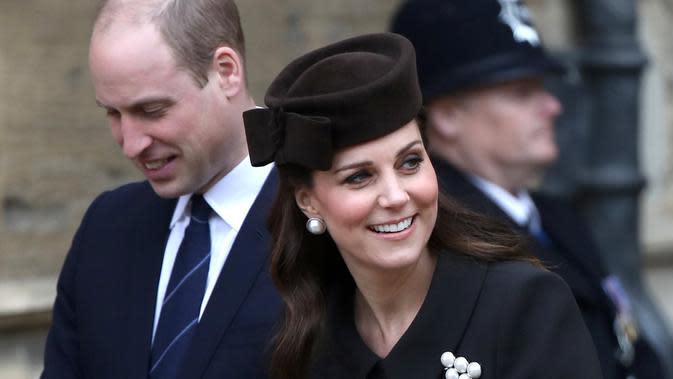 Kate Middleton baru saja merayakan ulang tahunnya ke-38. (AFP/Simon DAWSON/POOL)