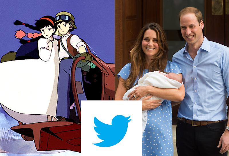 Movie Fans in Japan Obliterate Royal Baby News on Twitter
