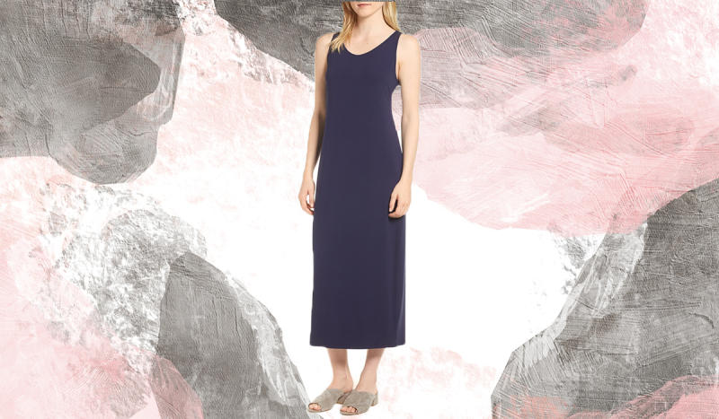 Usher in summer with this scoop-neck midi. (Photo: Nordstrom Rack)