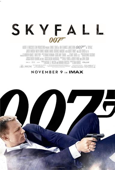 "Oscars 2013 noms - Original Song - ""Skyfall"" from Skyfall Music and Lyric by Adele Adkins and Paul Epworth"