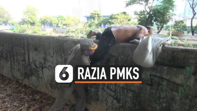 VIDEO: Razia PMKS. Petugas Kejar-kejaran dengan Pemulung