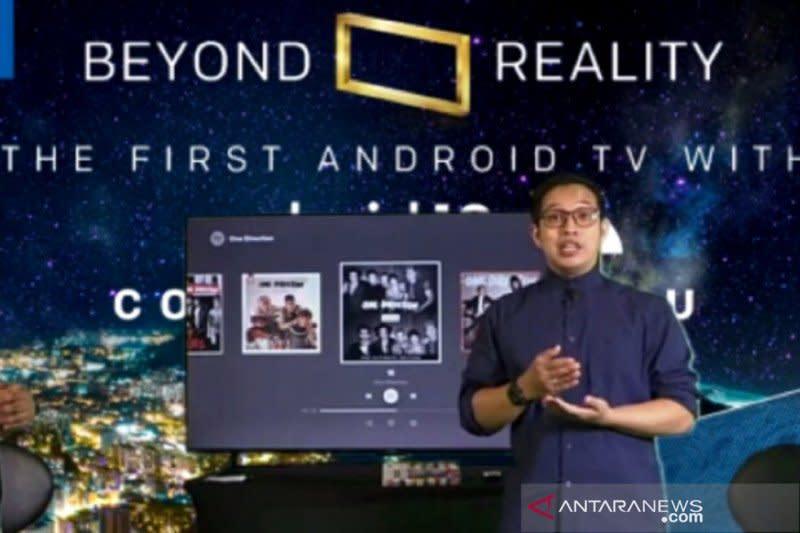 "Coocaa CUC7500, ""Smart TV"" dengan Android 10"