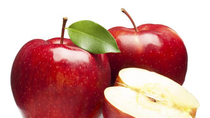 Buah apel (Via: ahlinyaasamlambung.web.id)
