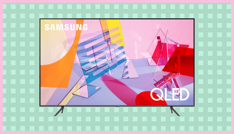 This Samsung 50-inch QLED 4K UHD Smart TV (Q60T) is on sale for just $650. (Photo: Samsung)