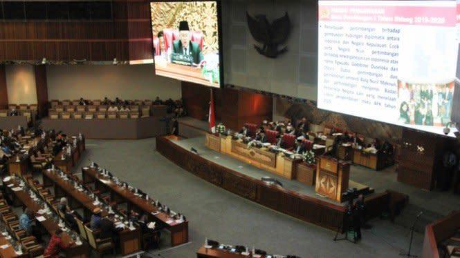 Benny Harman Bikin Paripurna Pengesahan RUU Ciptaker di DPR Jadi Lucu