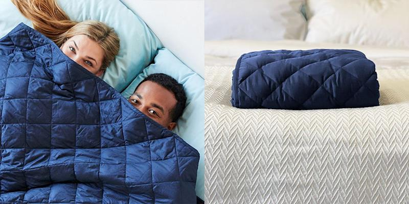 Slumber Cloud Just Launched Its First Weighted Blanket And It S Perfect For Hot Sleepers
