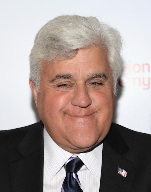Jay Leno Talks Getting Arrested, Giving Up the 'Tonight Show' at Television Academy Hall of Fame Induction