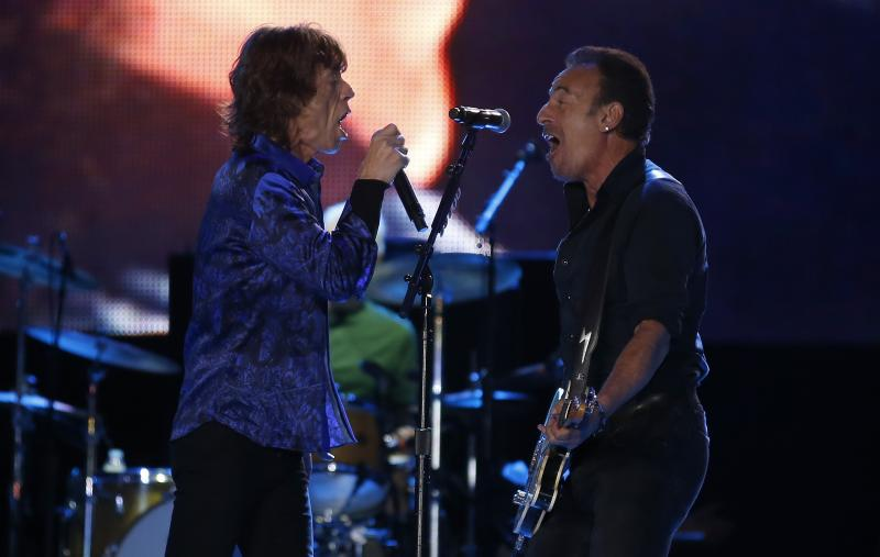 The Rolling Stones Jam With Bruce Springsteen, Play for Bill Clinton at Rock in Rio Lisbon