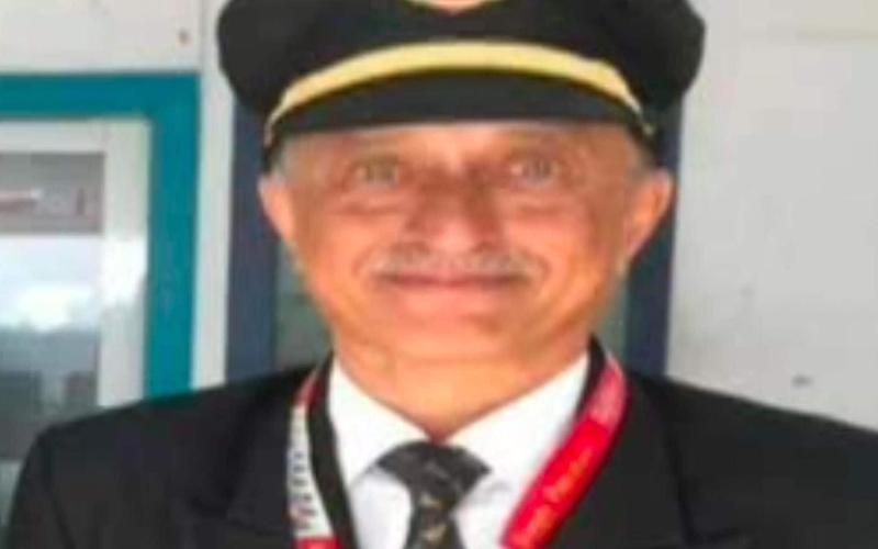 Captain Sathe, the plane's pilot, is among those dead - UNPIXS (Europe) /Universal News And Sport (Scotland)