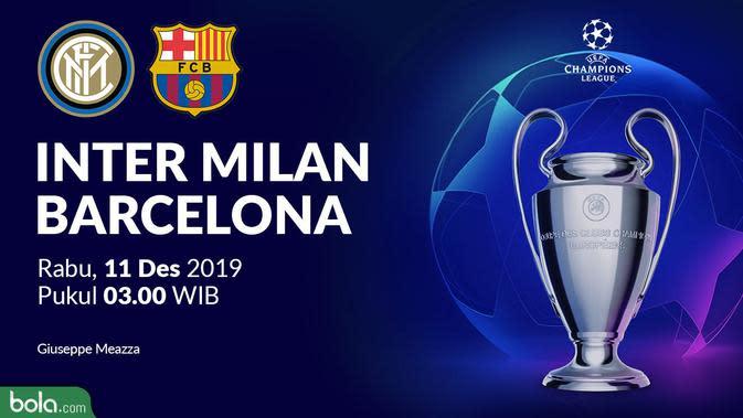 Inter Milan Gagal ke 16 Besar Liga Champions Usai Dikalahkan Barcelona 1-2