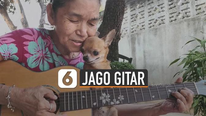 VIDEO: Berusia Tua, Tapi Punya Suara Merdu dan Jago Gitar