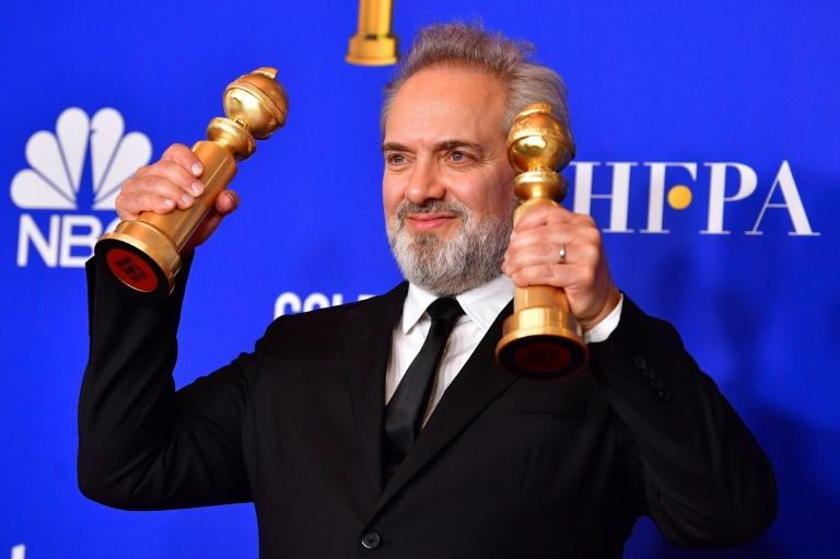 """Sam Mendes's World War I movie """"1917"""" is hoping to add to its Golden Globe wins"""