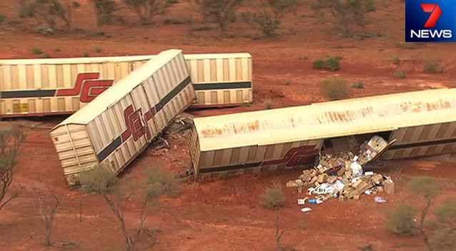 Key train line to Perth cut by derailment