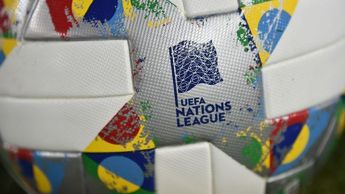 Logo UEFA Nations League. (AFP/Ozan Kose)