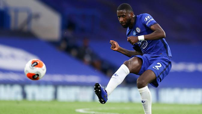 Liga Inggris: Takut dengan Suporter, Alasan Antonio Rudiger Batal Tinggalkan Chelsea